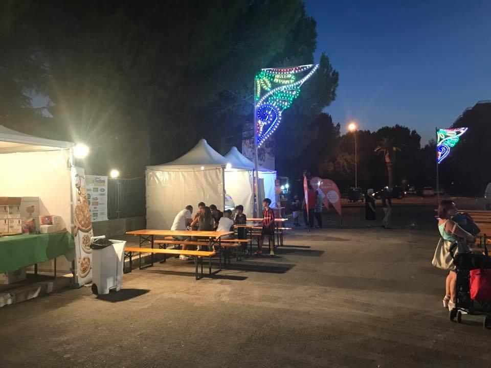 panche per street food